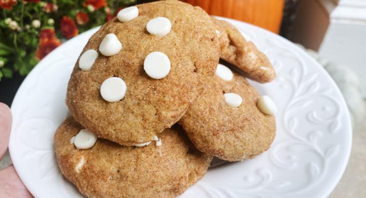 OMG: Pumpkin snickerdoodlecookies